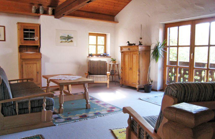The House Ferienwohnung Allgu in Halblech near Fssen and the
